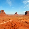 Monument Valley, Utah-Arizona border, USA
