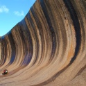 Wave Rock, Western Australia. Totally worth the 8-hour return trip from Perth.