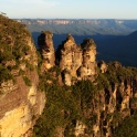 The Three Sisters, Blue Mountains, New South Wales, Australia. It was one of those perfect moments when you arrive at the famous lookout and it looks 100% like it should.