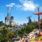 Melbourne Moomba Festival, on a rare occasion when I actually attended it. I get less fond of crowds with age, but in a right mood it can be quite invigorating.