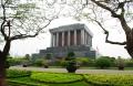 Hanoi, Ho Chi Minh Mausoleum. Doesn't show the massive queue to get inside.