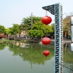 Hoi An - view from the bridge