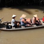 Boat cruise on the Mekong River