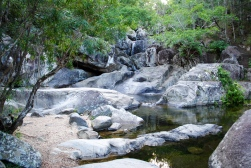 It's amazing how much more refreshed you feel after swimming in a freshwater creek as opposed to the sea