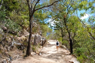 Walk on the Magnetic Island... much sweating but worth it