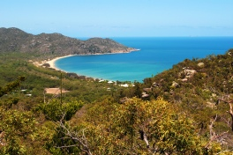 View on the Magnetic Island