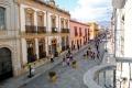 The main street in Oaxaca