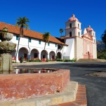 Old Mission in Santa Barbara