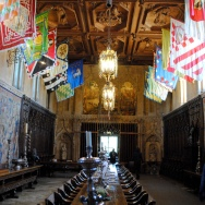 Hearst Castle, the dining room