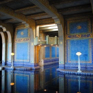 Hearst Castle, the indoor swimming pool. Probably my favourite thing in the entire complex.