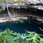 Swimming in a cenote