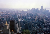 View of New York City from the Empire State Building