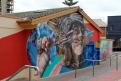 A mural in Glenelg