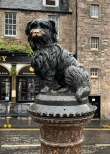Greyfriars Bobby, the dog who for 14 years guarded his master's grave